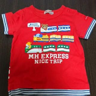 ミキハウス(mikihouse)のミキハウス新幹線Tシャツ80(Tシャツ)