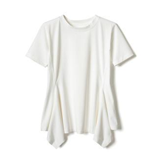 グレイル(GRL)のグレイル GRL 裾切り替えTシャツ 新品未使用タグ付き(Tシャツ(半袖/袖なし))