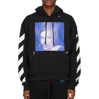 OFF-WHITE - offwhite  hoodie xsサイズ