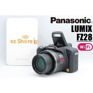 パナソニック(Panasonic)の☆スマホ転送♪広範囲をカバー♪高画質♪パナソニック LUMIX FZ28 ☆(デジタル一眼)