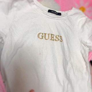 ゲス(GUESS)のguess へそだし Tシャツ(Tシャツ(半袖/袖なし))