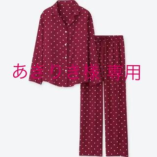 UNIQLO - ユニクロのドットパジャマ ルームウェア