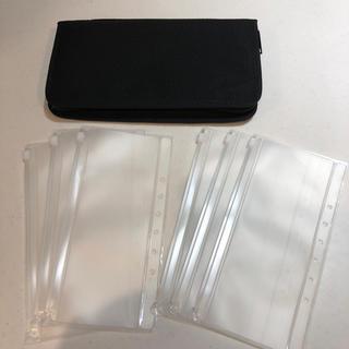 ムジルシリョウヒン(MUJI (無印良品))の美品 無印良品 パスポートケース クリアポケット セット 家計簿(ファイル/バインダー)