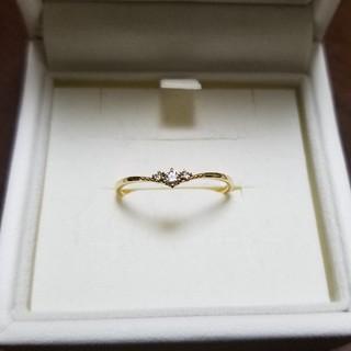 ヴァンドームアオヤマ(Vendome Aoyama)のVENDOME AOYAMA k18 ダイヤモンド リング(リング(指輪))