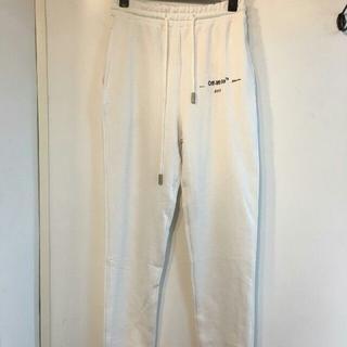 オフホワイト(OFF-WHITE)のOff-white temperature sweatpants(スラックス)