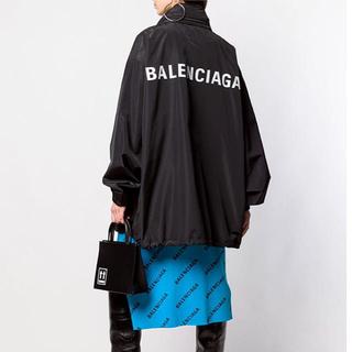 バレンシアガ(Balenciaga)の新品 バレンシアガ バックロゴ ナイロン ジャケット ウインドブレーカー(ナイロンジャケット)