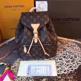 LOUIS VUITTON - LOUIS VUITTON ルイヴィトン モンスリ リュックサック