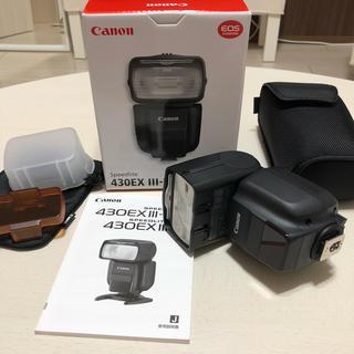 Canon - Canon スピードライト 430EX Ⅲ-RT