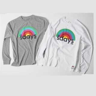 ディーゼル(DIESEL)の【即発送】S'DAYS エスデイズ Mサイズ ロンT グレー(Tシャツ/カットソー(七分/長袖))