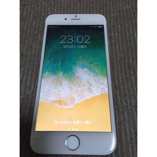 Apple - iPhone6 Silver 16 GB au 難あり