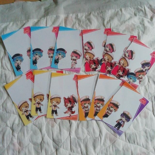ファミリーマート限定 すとぷり クリアカードセット エンタメ/ホビーのおもちゃ/ぬいぐるみ(キャラクターグッズ)の商品写真