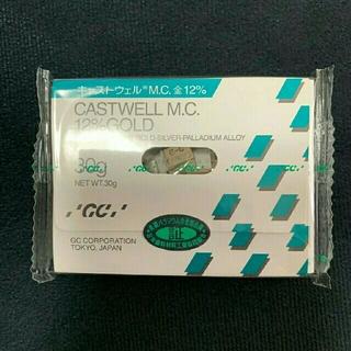 新品 GCキャストウェル 12%金パラ 30gを3袋 合計90g 歯科用金属(その他)