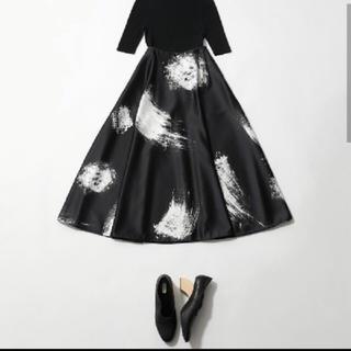 エンフォルド(ENFOLD)の新品未使用 タグ付き ENFOLD デザインスカート 38(ロングスカート)