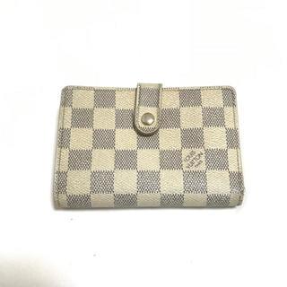 ルイヴィトン(LOUIS VUITTON)の❤️セール❤️ ルイヴィトン ダミエ アズール 二つ折り 財布 小物 レディース(折り財布)