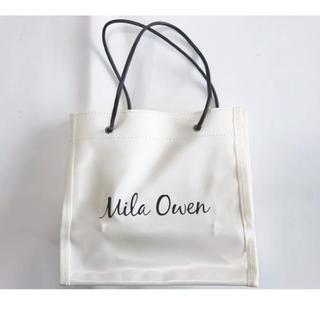 ミラオーウェン(Mila Owen)の雑誌付録  Mila  Owen トートバック(トートバッグ)