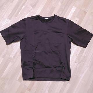 GU - GU ビッグシルエットTシャツ 赤 ワインレッド
