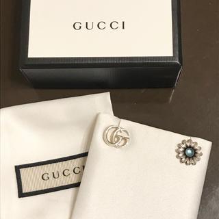 グッチ(Gucci)のGUCCI ピアス ダブルG フラワー(ピアス)