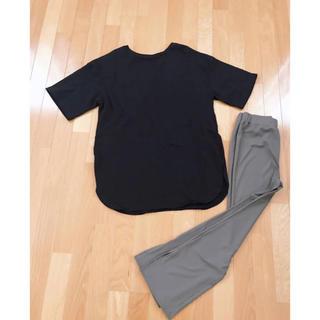 GU - GU Tシャツ、パンツ2枚セット