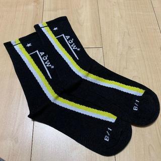 A-COLD-WALL ソックス 靴下 黒 (ソックス)