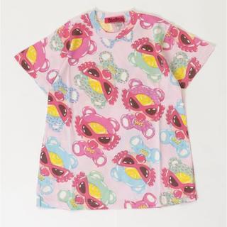 ヒステリックミニ(HYSTERIC MINI)のテディ Tシャツ(Tシャツ/カットソー)