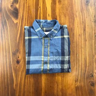 バーバリー(BURBERRY)のバーバリー❤︎チェックシャツ 6y(Tシャツ/カットソー)