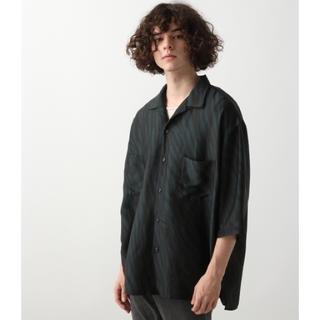 ハレ(HARE)のHARE ZEBRAガラオープンネックシャツ(シャツ)