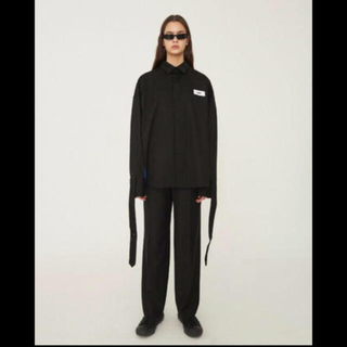バレンシアガ(Balenciaga)のadererror flip shirts black (シャツ)