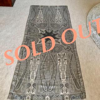 ETRO ウール70%シルク30%のおしゃれなスカーフ♡