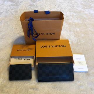 ルイヴィトン(LOUIS VUITTON)のルイヴィトン長財布&カード入れパスケース(名刺入れ/定期入れ)