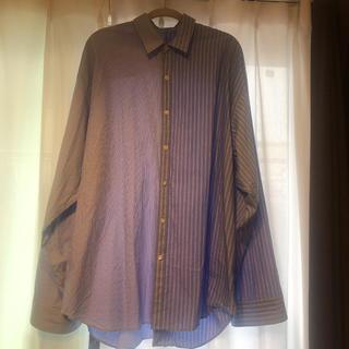 ドレスドアンドレスド(DRESSEDUNDRESSED)の[菅田将暉着用]dressedundressed オーバーサイズシャツ(シャツ)
