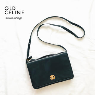 celine - 美品 …Italia製 vintageタッセル付きショルダー