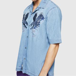 ディーゼル(DIESEL)の【新品】DIESEL シャツ D-RASHI(Tシャツ/カットソー(半袖/袖なし))
