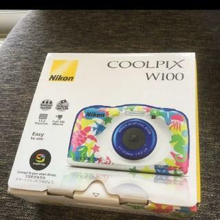 Nikon - 新品!クールピクス NIKON w100 水中カメラ 防水カメラ