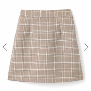グレイル(GRL)のGRL チェックミニ台形スカート(ミニスカート)
