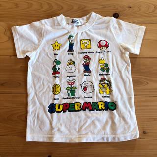 バンダイ(BANDAI)のスーパーマリオ Tシャツ 半袖 95センチ(Tシャツ/カットソー)