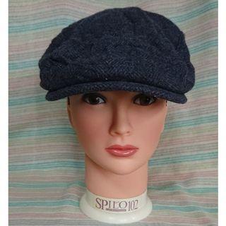 ディーゼル(DIESEL)のおしゃれ♪ ディーゼル DIESEL ハンチング グレー(ハンチング/ベレー帽)