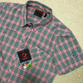 マムート(Mammut)の新品 定価 15120円 MAMMUT レディースXL 半袖 ボタンシャツ(登山用品)