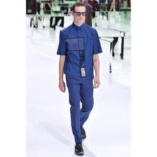 ディオールオム(DIOR HOMME)の購入希望Dior HOMME 14ss 切り替えシャツ(Tシャツ/カットソー(半袖/袖なし))