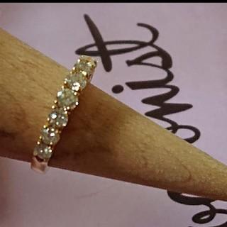 本日のみ値下げ❤️1.02ct  K18 ダイヤモンドリング(リング(指輪))