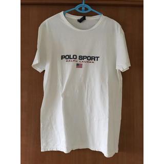 POLO RALPH LAUREN - RALPH LAUREN ラルフローレン ポロスポーツ 半袖Tシャツ 白 メンズ