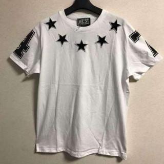 限定数 星柄 スター Tシャツ フリーサイズ ストレッチ(Tシャツ/カットソー(半袖/袖なし))