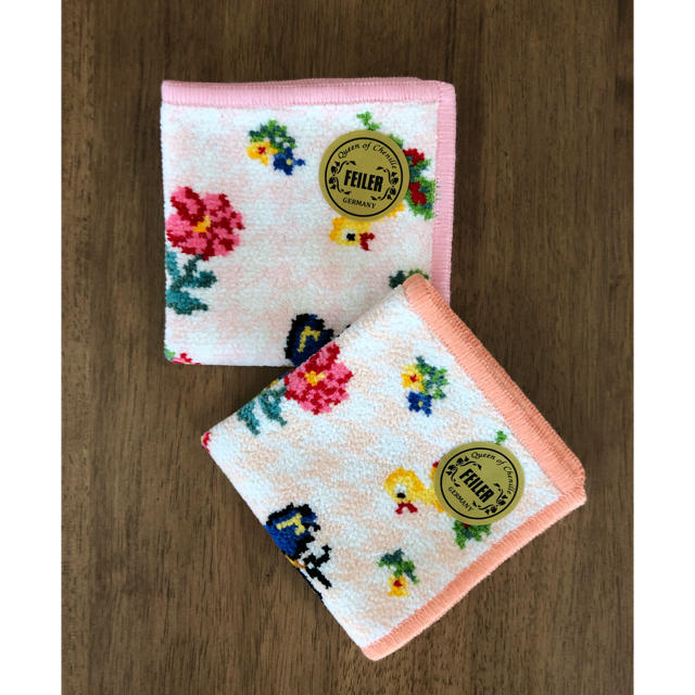 FEILER(フェイラー)の新品♡フェイラー 千鳥ハイジミニハンカチ レディースのファッション小物(ハンカチ)の商品写真