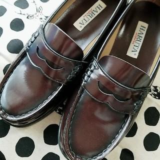 ハルタ(HARUTA)のハルタ HARUTA ローファー 24  ブラウン(ローファー/革靴)