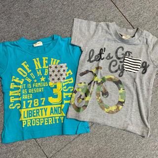 ミキハウス(mikihouse)の90サイズ 半袖カットソー 2枚セット Tシャツ(Tシャツ/カットソー)