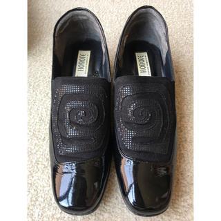 SAINT HONOTE 21.5cm 黒色 婦人靴 日本製(ハイヒール/パンプス)