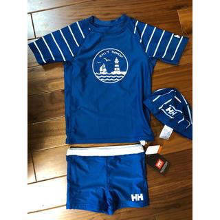 ヘリーハンセン(HELLY HANSEN)のヘリーハンセン kids 水着セット 120(水着)