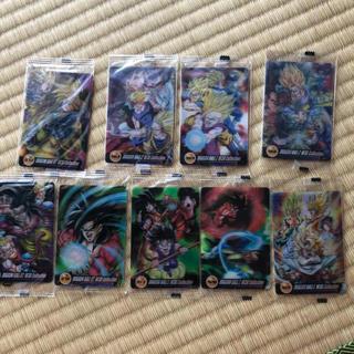 ドラゴンボール(ドラゴンボール)の絵が変わる3Dドラゴンボールカード(カード)