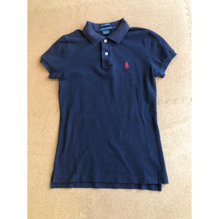 ラルフローレン(Ralph Lauren)のラルフローレン ポロシャツ ネイビー(ウエア)