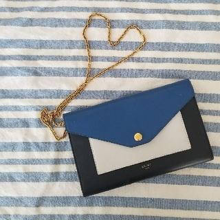 celine - セリーヌ長財布、チェーンウォレット