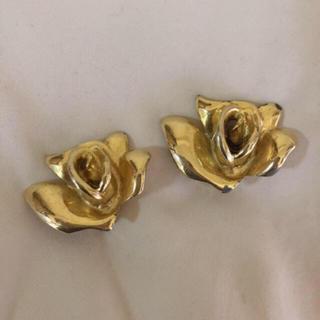 EDIT.FOR LULU - vintage rose earring